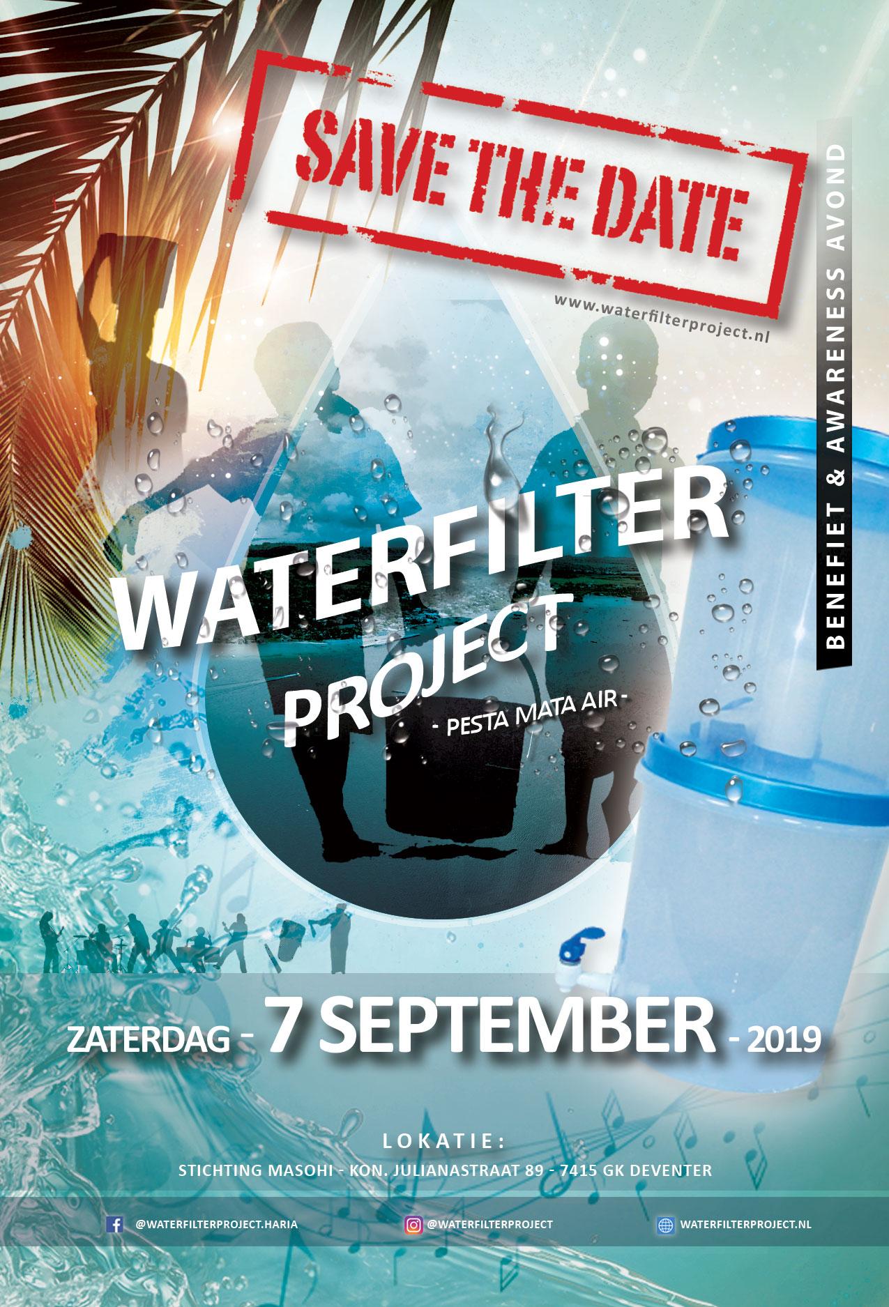 Pesta Mata Air - Benefietavond Waterfilterproject